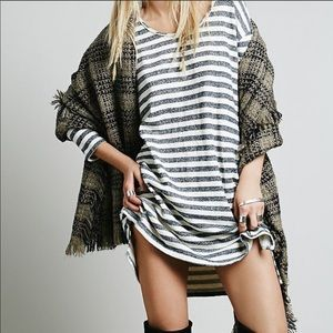 Free People | Rare PS Tunic Pocket Pullover Dress